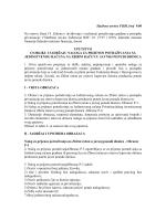 Službene novine FBiH, broj 9/00 - Agencija za privatizaciju FBiH