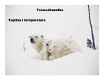 Termodinamika Toplina i temperatura