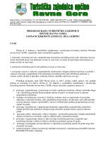 Program rada za 2013. godinu