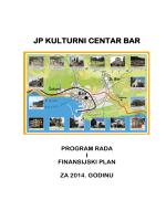 Program rada i Finansijski plan