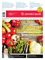 očekuje se rast potrošnje za hranu - e