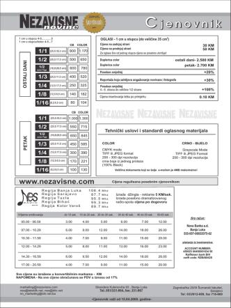 Cjenovnci za print.cdr