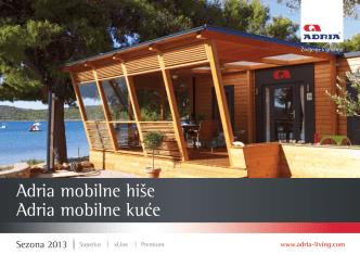 Adria mobilne kuće Adria mobilne hiše