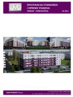 Specifikacija standarda i opreme stanova 612.89 KB