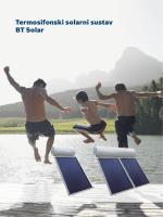 Brošura Termosifonski solarni kolektor BT SOLAR
