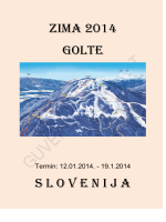 ZIMA 2014 GOLTE S L O V E N I J A