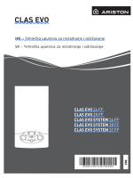 Tehničko uputstva za instaliranje i održavanje CLAS EVO FF