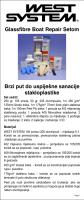 Set za sanaciju stakloplastičnih plovila