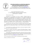 hrvatsko društvo za sportsku medicinu croatian sports medicine