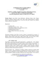 Zapisnik sa Skupštine 2012. - Europski Edukacijski Forum