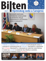 OSS bilten 21.indd - Općinski sud u Sarajevu