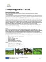 4. etapa: Nagykanizsa – Hévíz