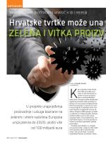 Hrvatske tvrtke može unaprijediti ZELENA I VITKA PROIZVODNJA