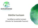 Održivi turizam - Discover Dinarides