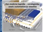 Moderna logistika – uvod u automatizaciju skladišta