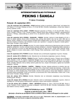 PEKING I ŠANGAJ - Sirius Travel doo