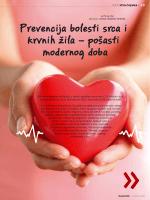 Prevencija bolesti srca i krvnih žila – pošasti modernog doba