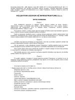 Kolektivni ugovor HŽ Infrastruktura - Sindikat infrastrukture Hrvatskih