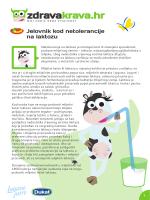 Jelovnik kod netolerancije na laktozu