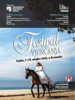 Letak Festivala vjenčanja 2015