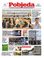 Pobjeda Ponedjeljak, 23. februar 2015.