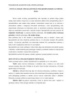 Poslijediplomski specijalistički studij iz kliničke psihologije 1 UPUTE