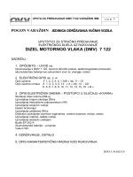 DIZEL MOTORNOG VLAKA (DMV) 7 122 - Strojovođe-hr