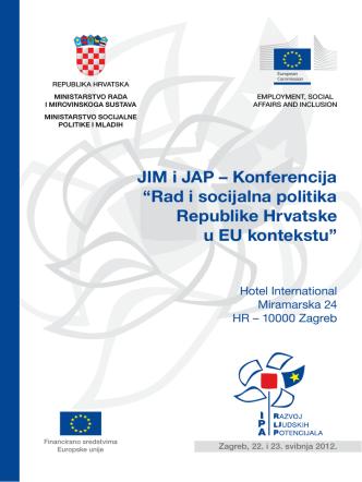 Brošura s konferencije u izdanju organizatora