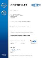 ISO 14001 - Svijet tonera