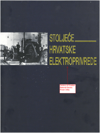 Century of Croatian National Electric Power Utility