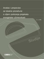 Studije - Poticanje energetske efikasnosti u Hrvatskoj