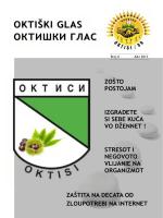 organiziranost - KHD OKTISI/09