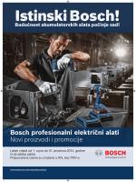 Bosch profesionalni električni alati Novi proizvodi i