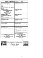 Župni listić od 07.01 do 17.01.2015 Br.160