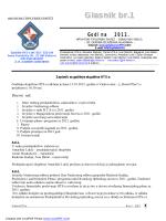 Glasnik br.1-2012