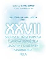 katalog 27. skupna izložba