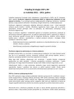 prijedlog Strategije društveno odgovornog poslovanja