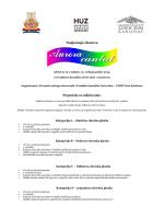 Propozicije - Hrvatska udruga zborovođa
