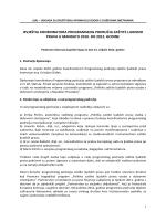 Izvještaj koordinatora Kristijana Grđana