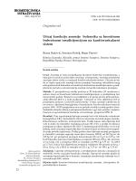 BIOMEDICINSKA ISTRAŽIVANJA Uticaj korekcije anemije bolesnika