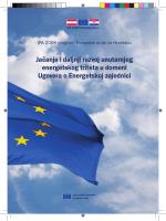 Jačanje i daljnji razvoj unutarnjeg energetskog tržišta u - E