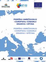 Podrška umrežavanju i euroPskoj suradnji gradova i oPćina