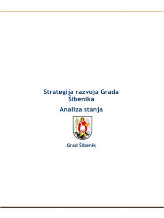 1. Strategija razvoja Grada Šibenika