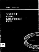 Karl Jaspers – Sokrat, Buda, Konfucije, Isus
