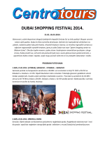 DUBAI SHOPPING FESTIVAL 2014.