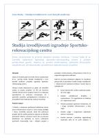 Studija izvodljivosti izgradnje Sportsko