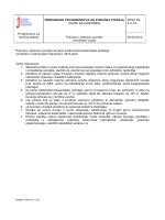 Preporuke za pohranu i pripravu uzoraka
