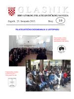 Glasnik Hrvatskog filatelističkog saveza br. 10/13