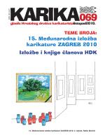 karika 69 - Hrvatsko društvo karikaturista