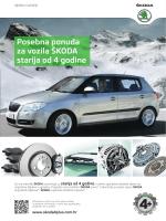Posebna ponuda za vozila ŠKODA starija od 4 godine